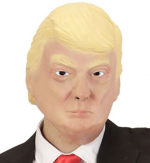 The President Mask Famous Politician Fancy Dress Cosplay